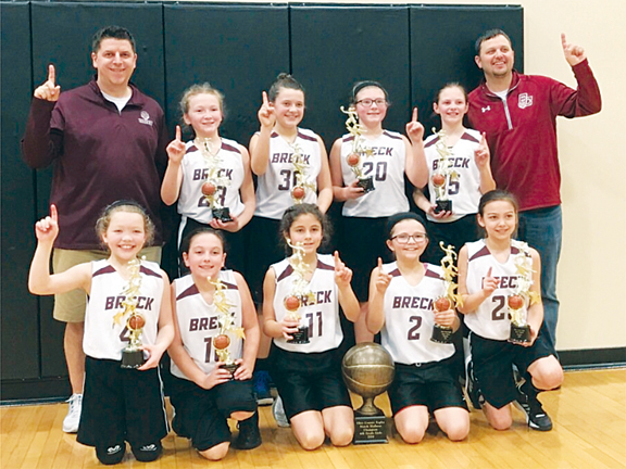 Breck County Lady Tigers 4th Grade