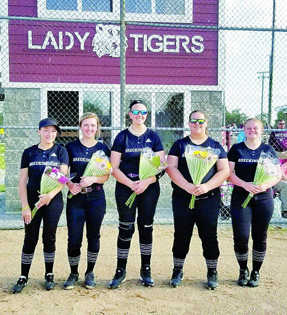 SP Lady Tiger Senior Softball Players